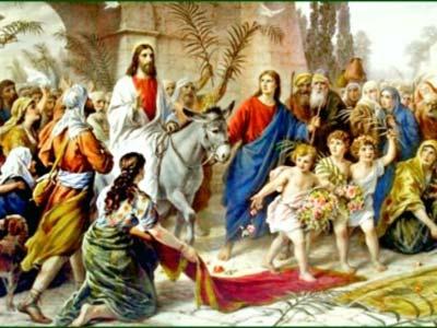 iisus-intrarea in ierusalim